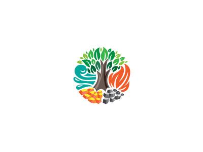 Nature logo milash mark george bokhua symbol
