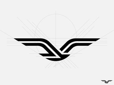 seagull symbol branding identity mark logo