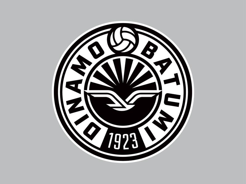 dinamo batumi branding identity mark logo