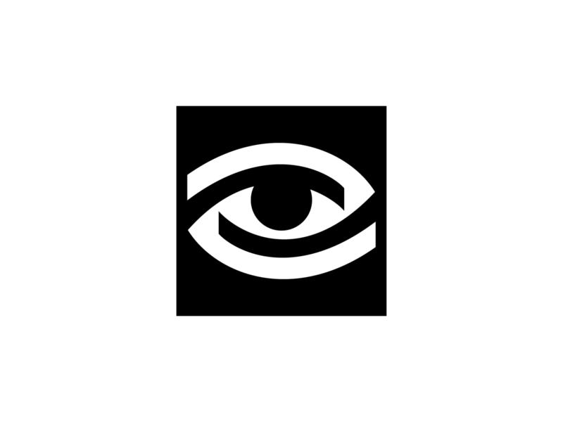 eye symbol branding brand idnentity mark logo