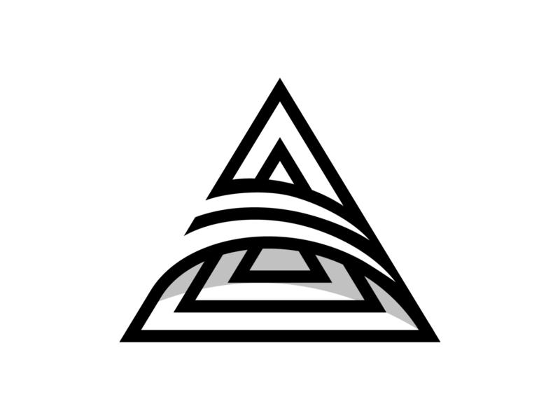 triad logodesign illustration logotype branding mark identity symbol logo