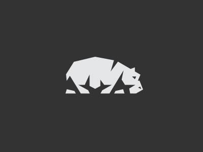 Hippo Chiaroscuro hippo logo mark symbol identity brand animal