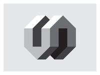 houses illustration typography design branding identity mark logo