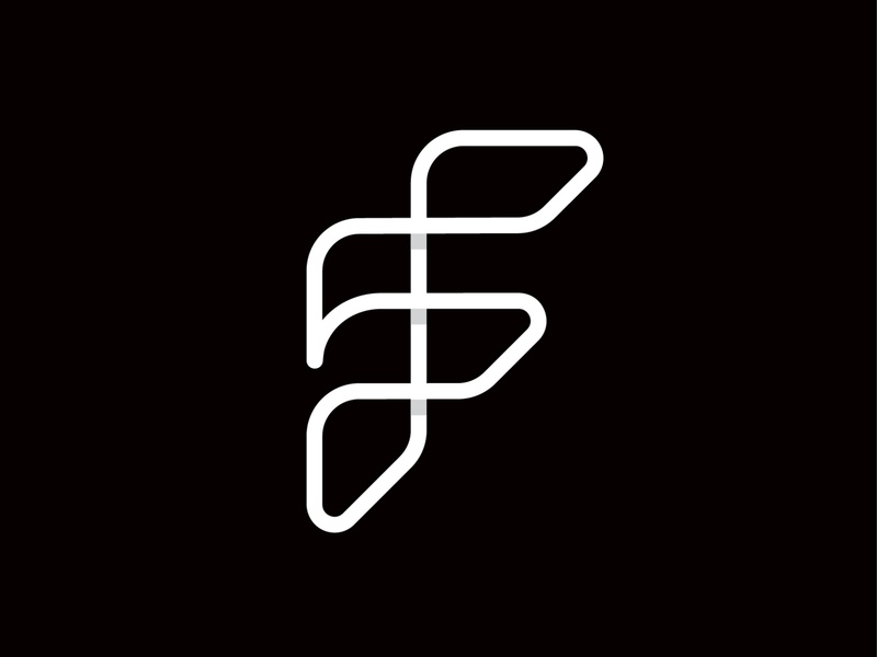 fibo sign symbol f type logotype branding identity mark logo