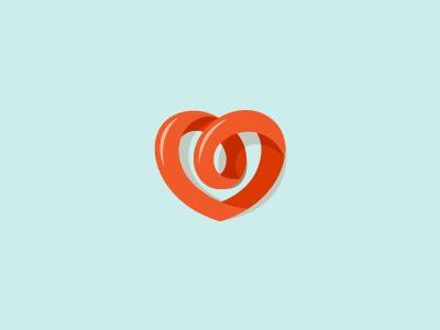 A Heart logo milash mark george bokhua symbol