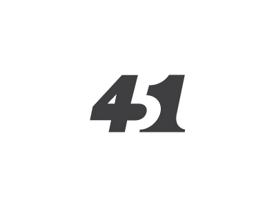 Fahrenheit 451 logo milash mark george bokhua symbol typography number numbers 4 5 1
