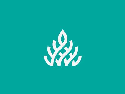 Plant logo milash mark george bokhua symbol