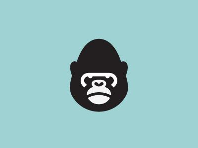 Gorilla logo milash mark george bokhua symbol animal gorilla