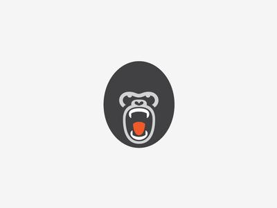 Gorilla Face logo milash mark george bokhua symbol gorilla face