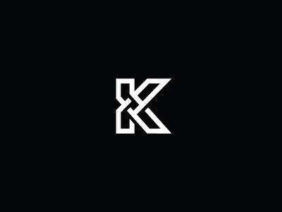 K logo milash mark george bokhua symbol typography
