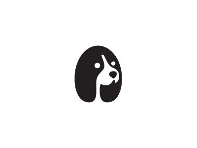 Neg Dog logo milash mark george bokhua symbol dog negative space