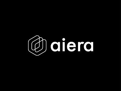 aiera typography branding identity logotype mark symbol logo