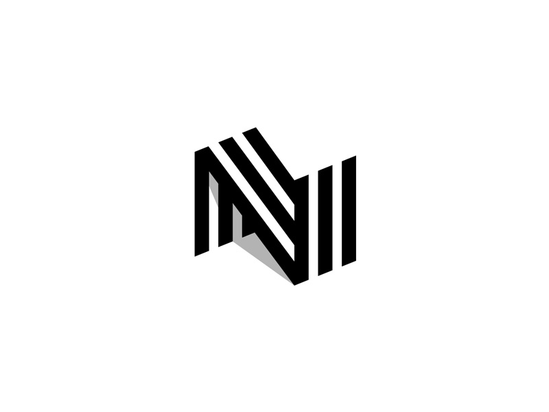 N For Nano logo milash mark george bokhua symbol n letterform