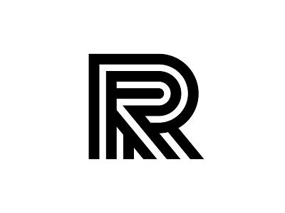 R monogram design mark typography symbol branding identity logotype logo