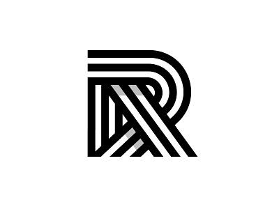 r design branding typography logotype identity symbol logo