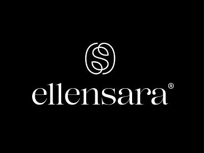 ellensara monogram branding typography illustration milash logotype identity symbol mark logo
