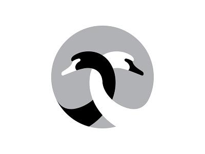 swans bird animal branding design identity logotype mark symbol logo