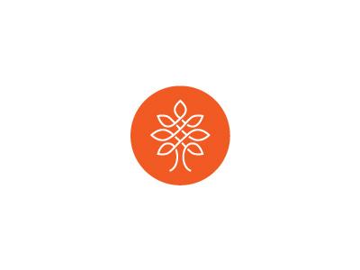 A Tree logo mark abstract figure design tree