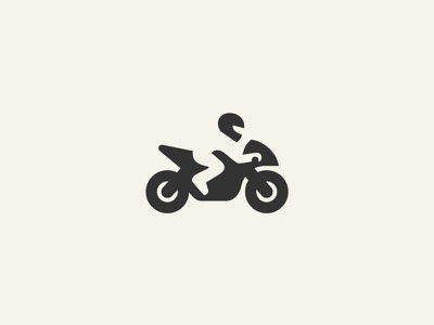Ghost Rider logo mark abstract figure design motocycle