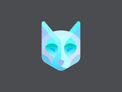 Wolf In Color wolf illustration logotype design identity symbol mark logo