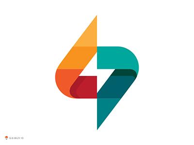 S Thunder thunder s monogram letterform logotype design identity symbol mark logo