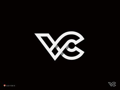 VC 2 c v monogram symbol george bokhua mark milash logo