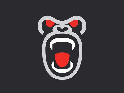 Bad Monkey gorilla monkey ape identity symbol mark logo