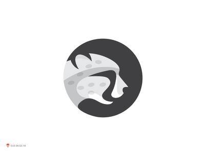 Cheetah 2* nature wilderness tiger cat cheetah bird identity symbol mark logo