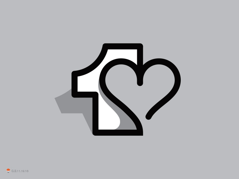One Love By George Bokhua Dribbble