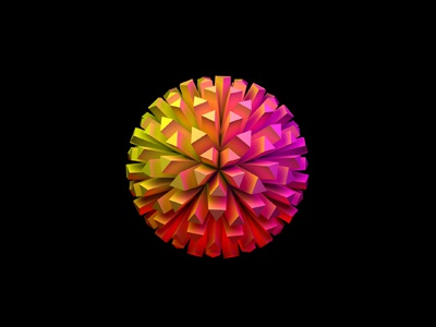 Dribbble sphere