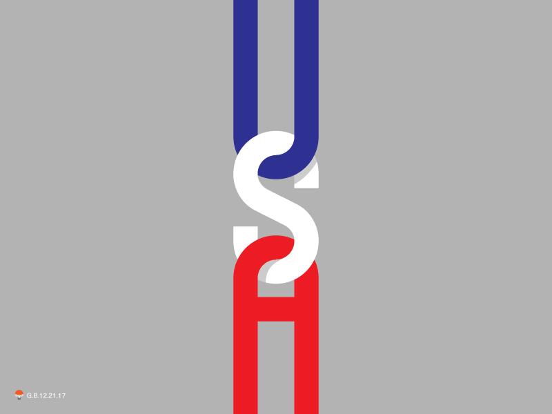 usa experiment sketch icon mark identity typography symbol logo
