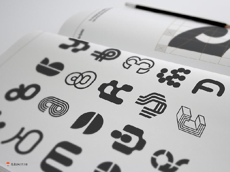 Frankfurt Book Fair 2018 identity experiment sketch icon mark identity typography symbol logo
