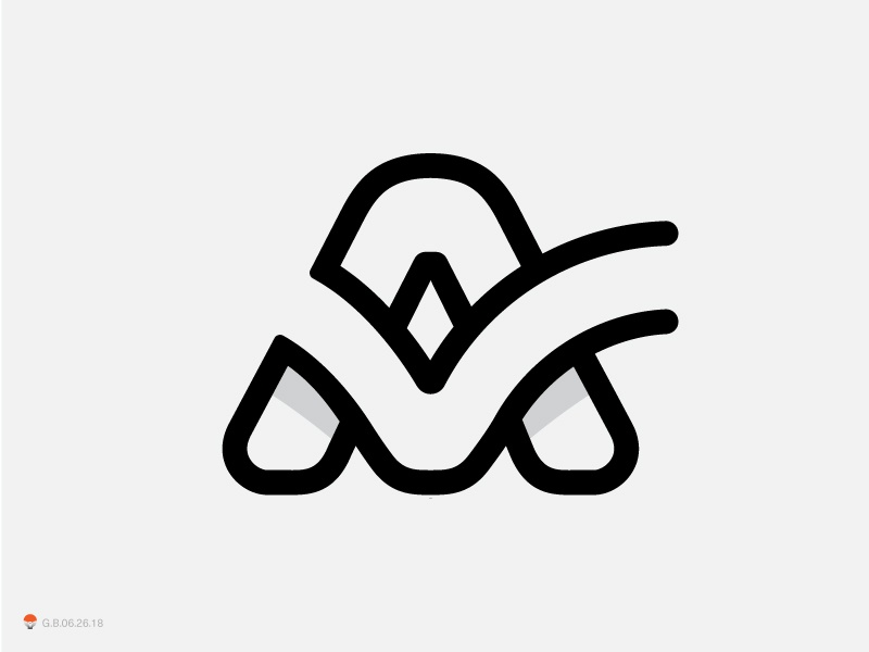 check mark a experiment sketch icon mark identity typography symbol logo