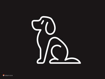 dog line