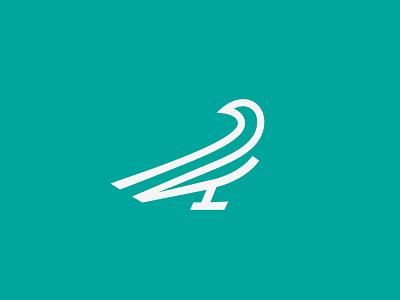 Bird bird logo mark symbol