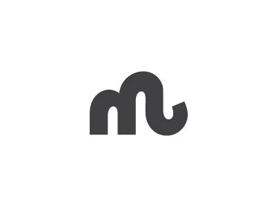 Mammoth* mammoth logo mark symbol letter typography m milash