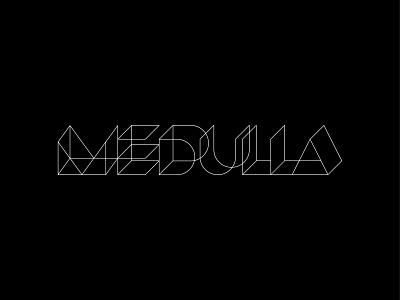 medulla branding typography symbol identity mark logo