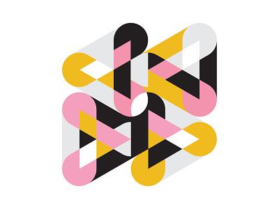 geom composition form geometry identity branding logo