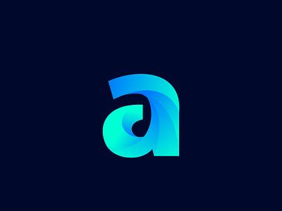 Dynamic A logo illustration typography branding modern brand logo design icon dribbble dynamic design a logo design dynamic logo a logo