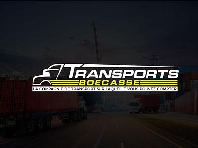 transport logo ship truck transportation transport logo design moving logo logistic transport logo