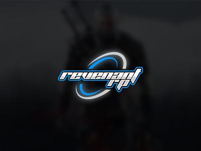 Gaming logo revenant app illustration logo branding modern r logo rp logo typography icon emblem logo creative round logo design rp revenant game logo games gaming logo gaminglogo gaming game