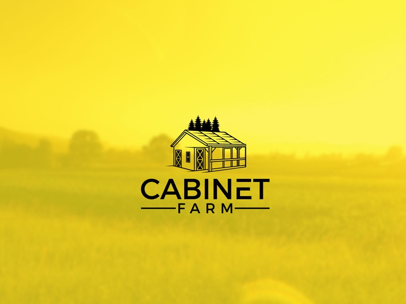 cabinet farm logo modern branding logodesign house tree house treehouse farm animal farming farm cabinet cabin cabinetry house logo tree logo farm logo cabinet logo