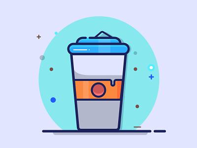 coffee mug design fastfood food illustration vector illustration coffee