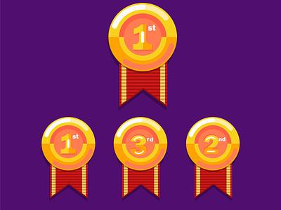 medal vector vector illustration medal golden