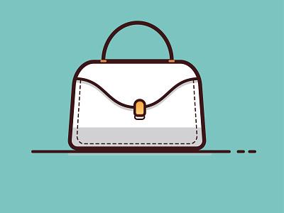 bag ladybug icon vector illustration vector illustration design illustrator
