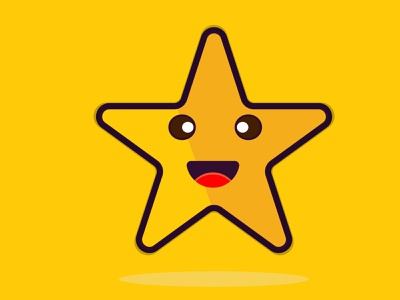 cute star red sketch vector illustration vector design illustrator cute star