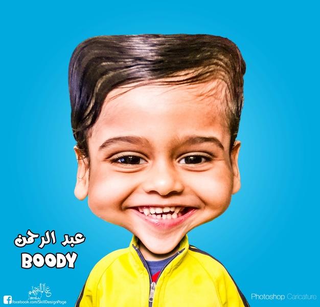 Boody Caricature manipulation design caricature photo edit photoshop