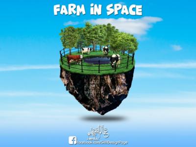 Farm in spase