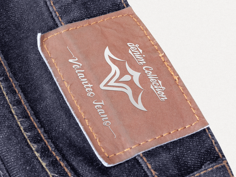 Jeans Patch Sticker Design for Volantes
