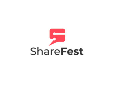 Logo design concept for ShareFest
